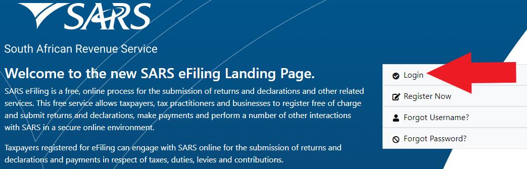 How to use SARS eFiling to File Income Tax Returns | TaxTim SA
