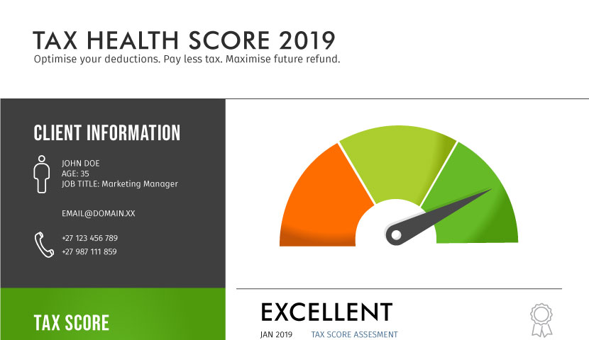 Get your digital tax health score to help you pay less tax